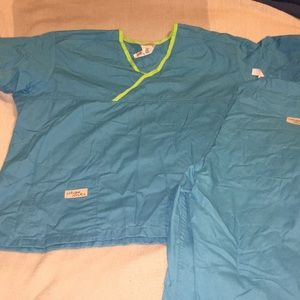 Other - *Urbane Scrubs* Teal and green BNWOT